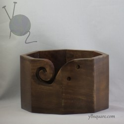 Mango Wood Yarn Bowl